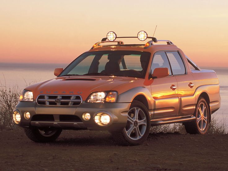 Subaru Baja - Four door sedan with a bed! The best of both worlds