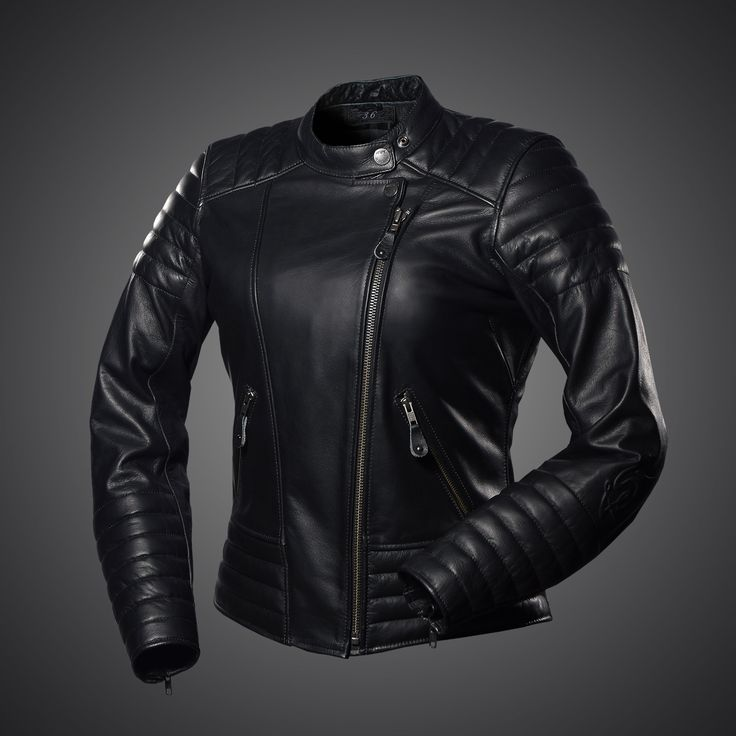 Well gentleman, this is it! The Jacket, which  all women want!  Women's Cool motorcycle jacket by 4SR has simple but remarkable design with luxury pink lining.
