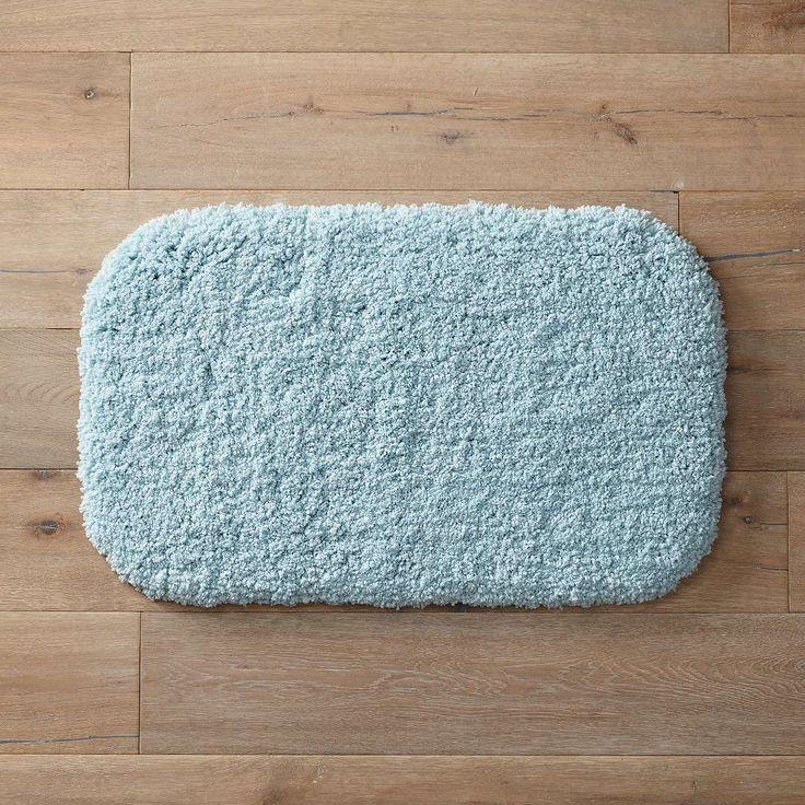 Deep Plush Bath Mat Aqua Haze 34 0024