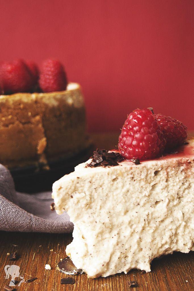 Malinový cheesecake / Raspberry cheesecake