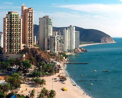 Santa Marta Colombia. Muy pronto podré disfrutar de este hermoso lugar. =)