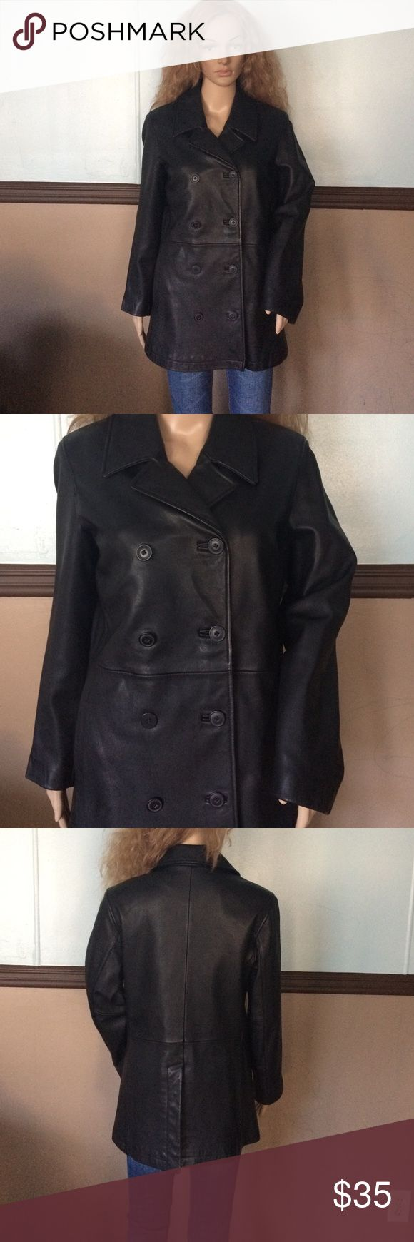 Gap jacket 100% leather Get condition GAP Jackets & Coats