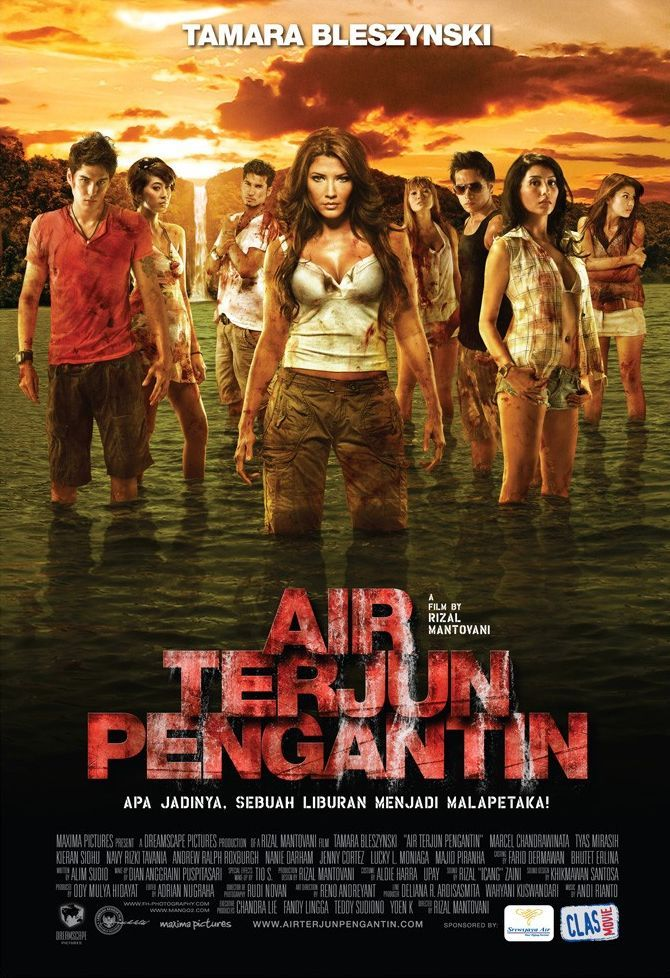 Air Terjun Pengantin 2009 Moviemeternl In 2019 Horror
