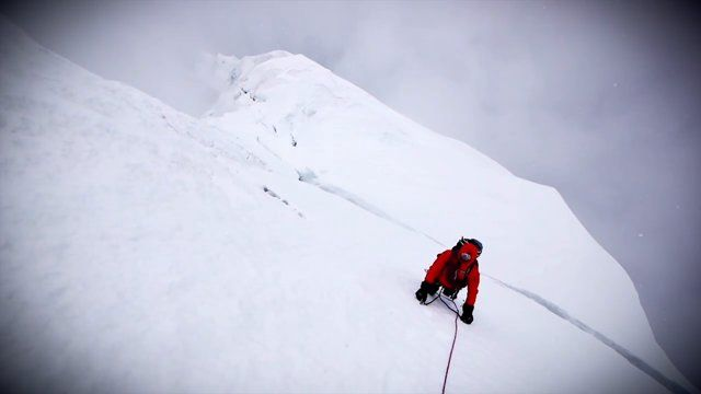 MOUNTAIN HARDWARE FILM  Interesting story idea. How it is all about the process. You don't truly love a sport or hobby unless you enjoy the whole process.