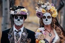 sugar skull make up male - Google Search
