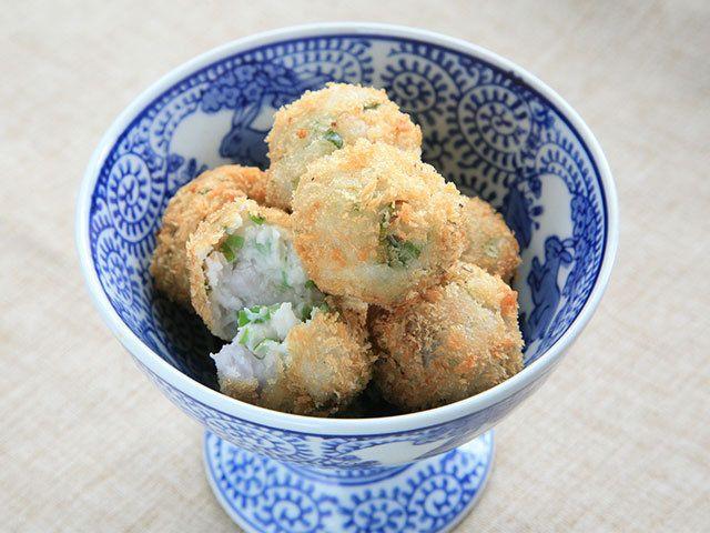 和食材「里芋」がおしゃれに変身! 一口サイズのクロケットの作り方|中村恭子のゆるマクロビをはじめよう|CREA WEB(クレア ウェブ)
