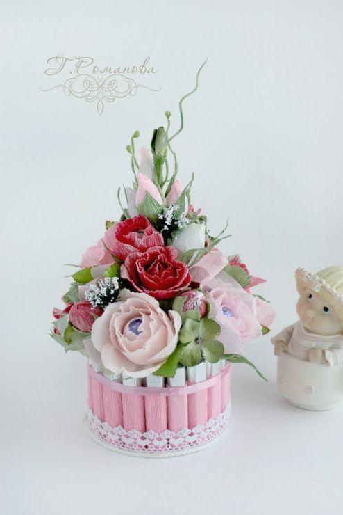 Gallery.ru / Мини-тортик. - Торты и тортики из конфет) - Galina2405