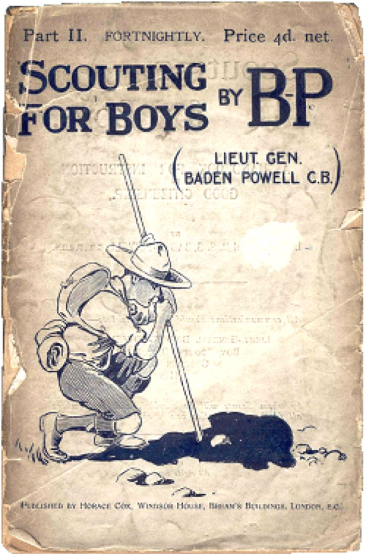 In 1908, the Boy Scouts movement began in England with the publication of the first installment of Lieut. Gen. Robert Baden-Powell's 'Scouting for Boys'.