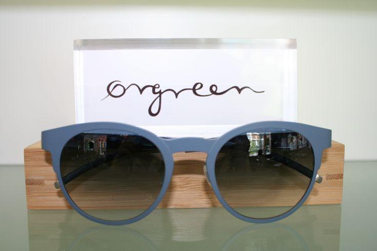 Orgreen Capote Sunglasses in Mat Stone Blue