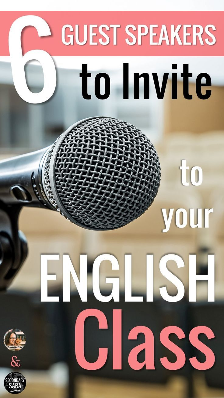 Best 25 guest speakers ideas on pinterest daily objectives im bringing the right guest speakers to an english class can make a world of difference to altavistaventures Gallery