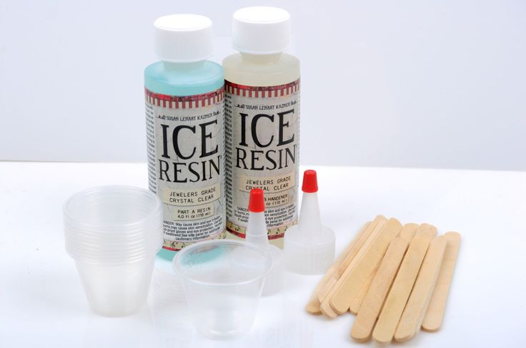 ICE RESIN Kit, Clear Jewelry Resin Starter Kit, plastic cups, doming kit, Jeweler Grade Clear Epoxy Resin, Low Odor, adh0029 by SmartParts on Etsy https://www.etsy.com/listing/265262933/ice-resin-kit-clear-jewelry-resin