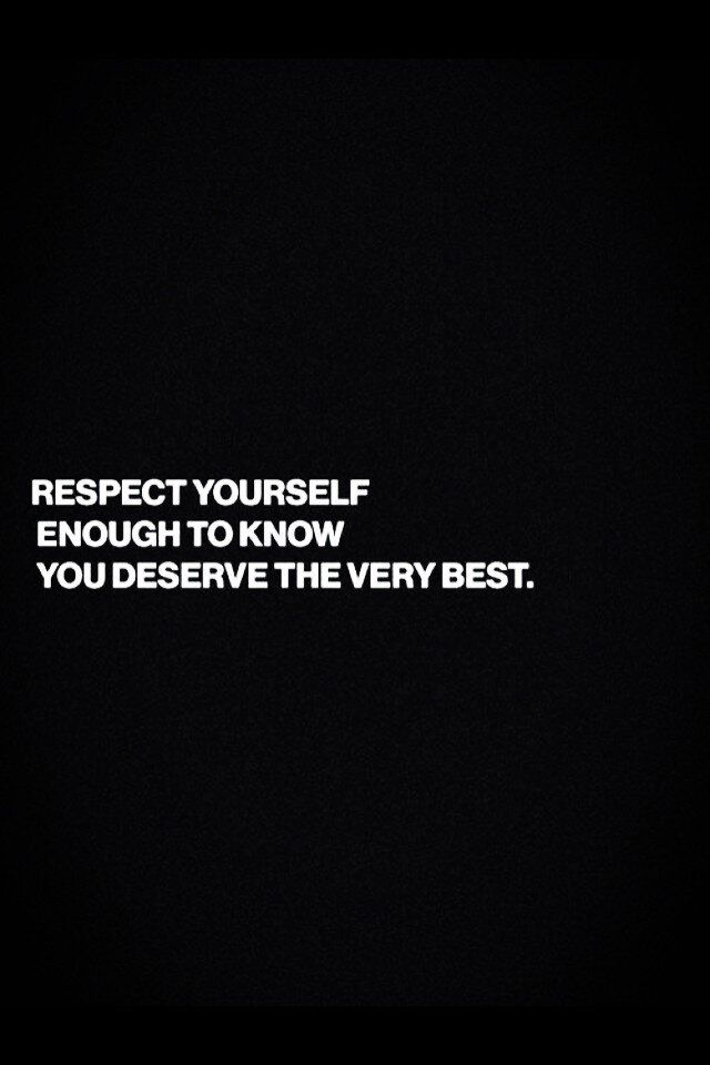 Respect- I am respectful to others and not only to others but myself. You always have to respect others. I treat others the right way!