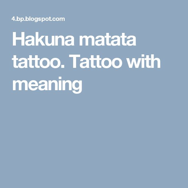 25 best ideas about hakuna matata symbol on pinterest disney stock quote swahili tattoo and - Signification hakuna matata ...