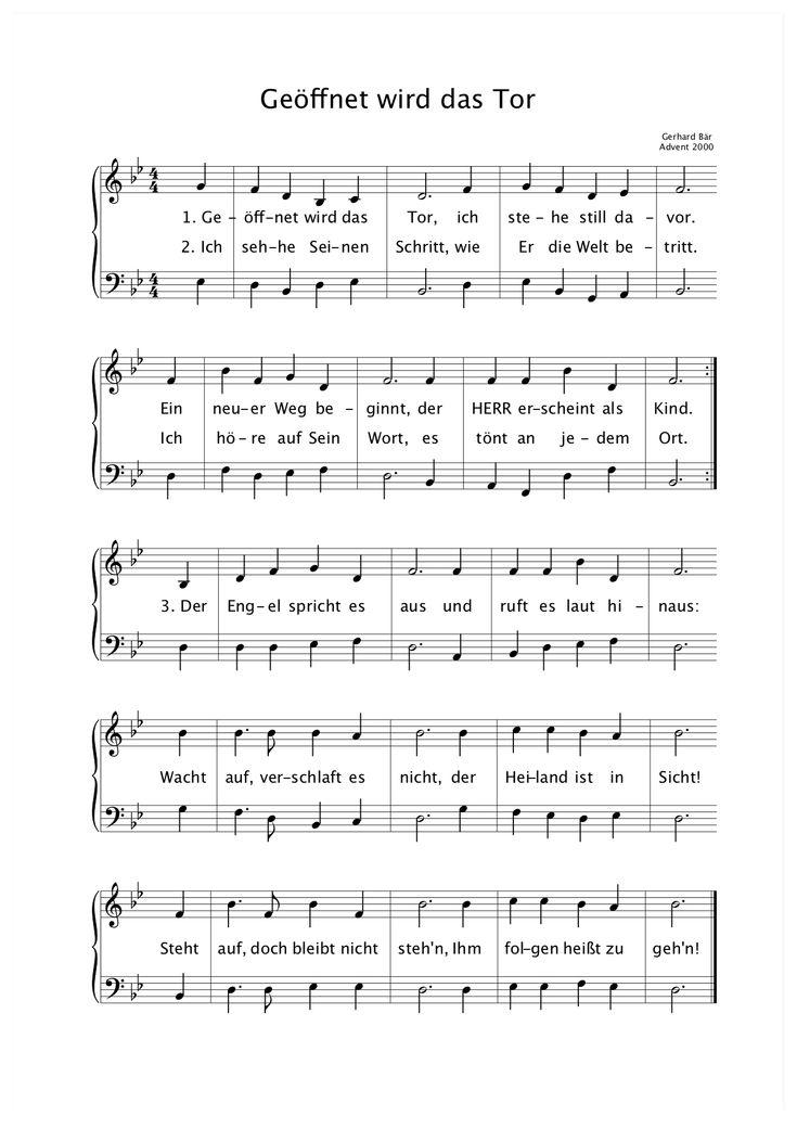 Adventslied | Christliche lieder, Lieder, Gottesdienst