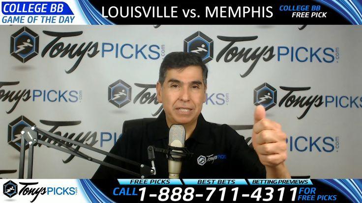 Louisville Cardinals vs. Memphis Tigers Free NCAA Basketball Picks and P...
