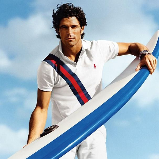 Sporting A White Polo Shirt Nacho Figueras Is A Nautical Vision For Polo Ralph Lauren Sport Men Spolo Ralph Lauren Men Polo Ralph Lauren Mens Nacho Figueras