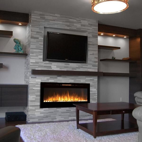 Touchstone Sideline 50 Recessed Electric Fireplace 80004