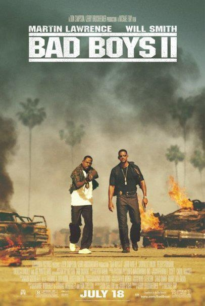 Bad Boys II (2003) Two loose-cannon narcotics cops investigate the flow of Ecstacy into Florida.  #movie