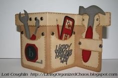 Fathers Day Tool Belt Card