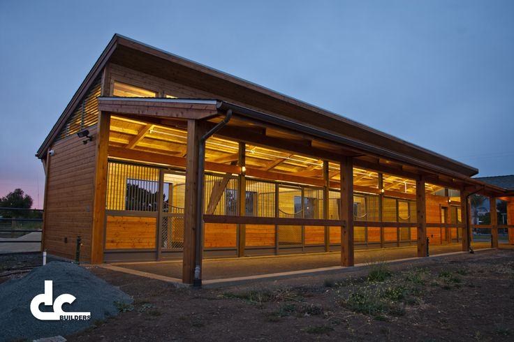 Luxury Clerestory Horse Barn In California