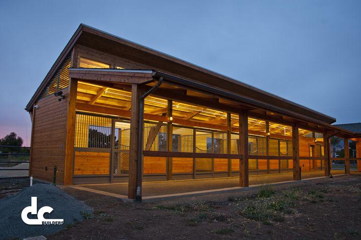 Luxury Clerestory Horse Barn In California