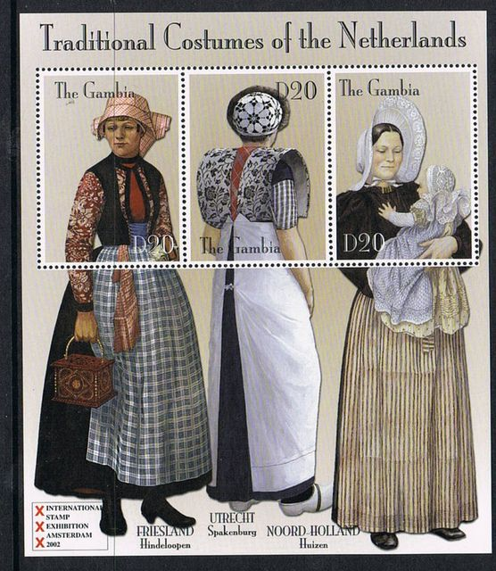 Dutch Traditional Costumes by P8 Accessories & Button Art, via Flickr