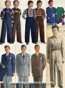 50s Style Clothing Boys