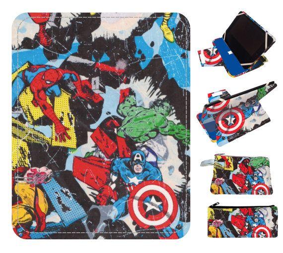 marvel comics etsy ipad case handmade,