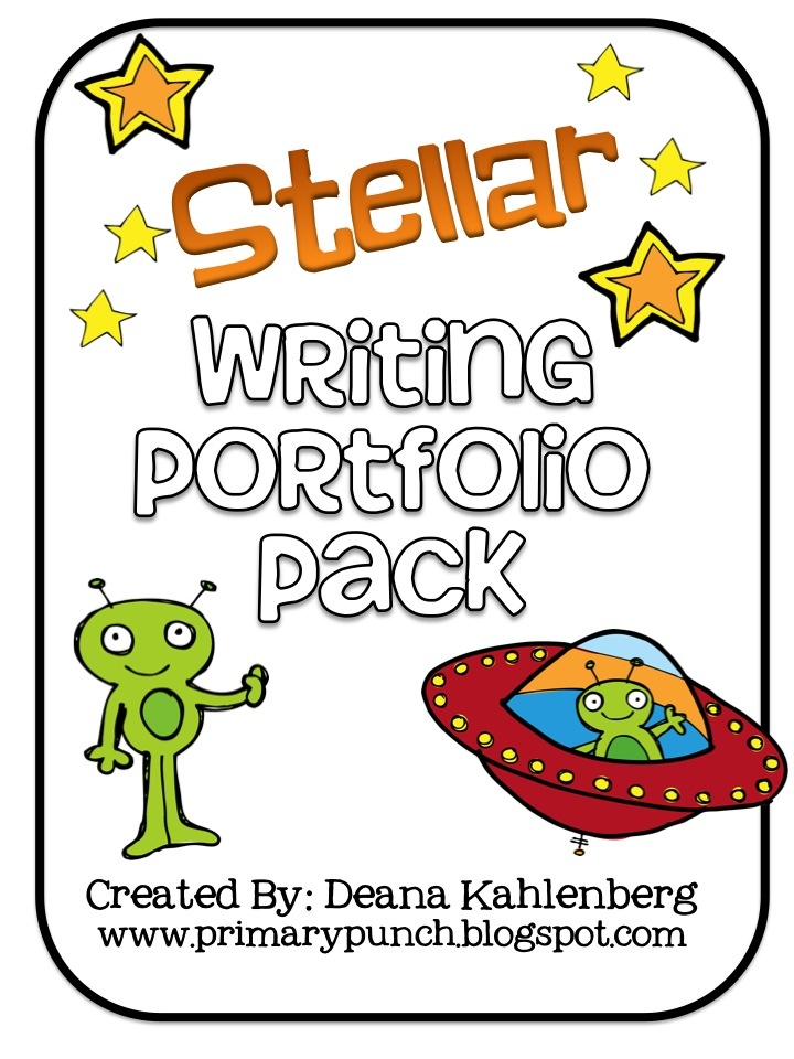 A great packet to create an out of this world writing portfolio with students!