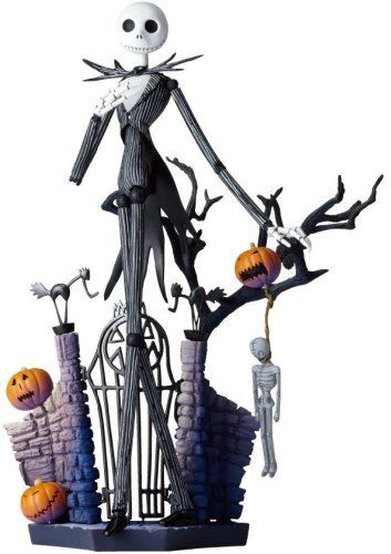 Special effects Revoltech The Nightmare Before Christmas Jack Skellington nonscale ABS  PVC painted action figure new package version of Legacy OF Revoltech *** More info could be found at the image url.