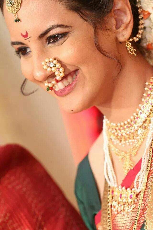 Maharashtrian bridal makeup get the perfect look in 10 easy steps - Marathi Brahmin Bridal Makeup Makeup Vidalondon