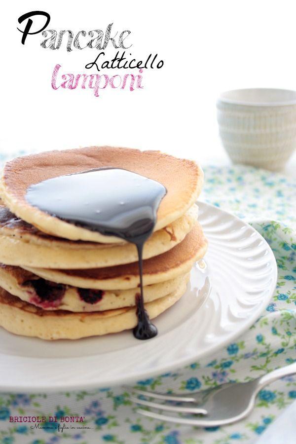 buttermilk raspberry pancakes