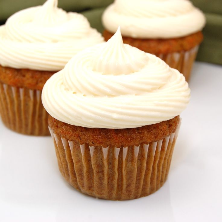 Carrot Cake Cupcakes on Pinterest | Icing for carrot cake, Carrot ...