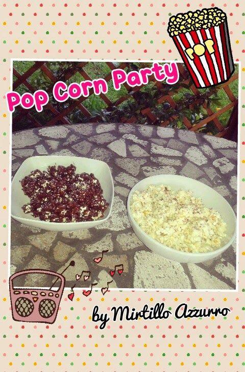 Mirtillo Azzurro: Ricetta Smart & Easy: Popcorn al cioccolato bianco...