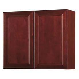 Kitchen Classics  Merlot Double Door Wall Cabinets