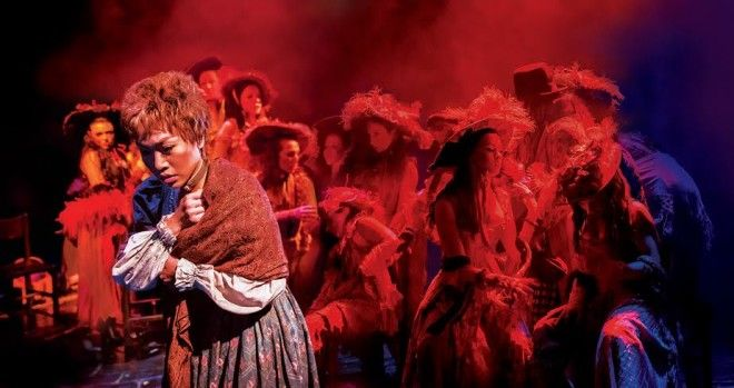 """Rachelle Ann Go as Fantine in """"Les Miserables,"""" The Theatre at Solaire. Photo from Concerts Manila"""