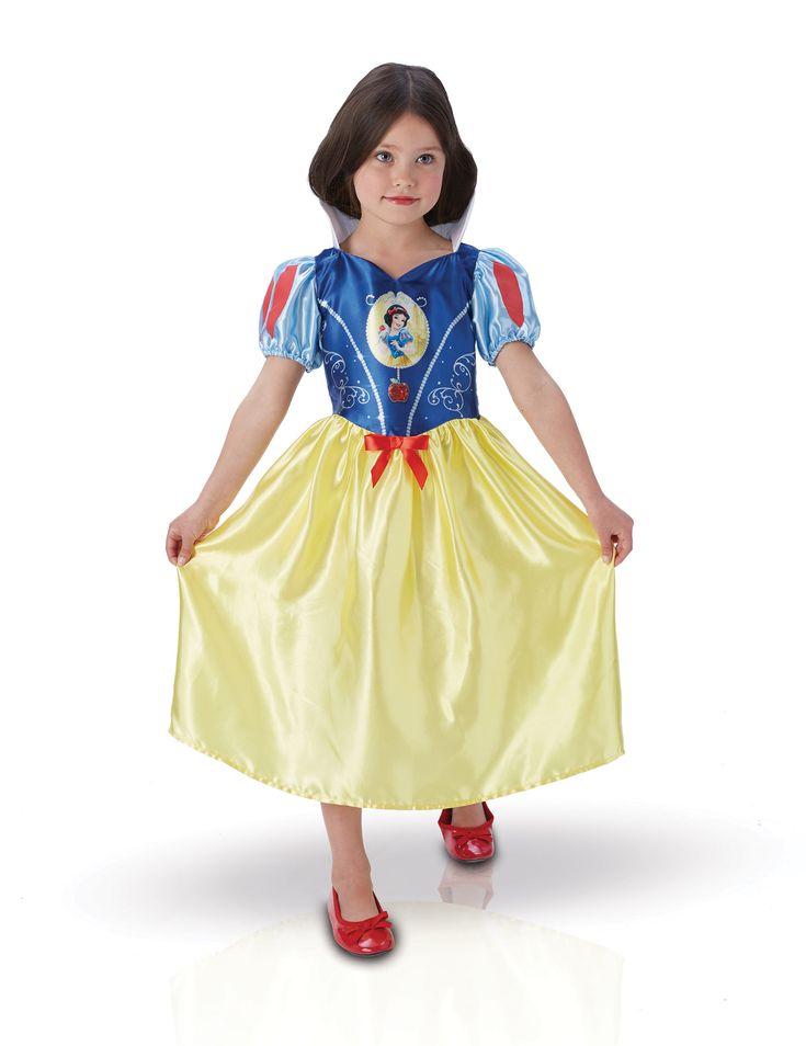 Costume classico da Biancaneve™ per bambina su VegaooParty, negozio di articoli per feste. Scopri il maggior catalogo di addobbi e decorazioni per feste del web,  sempre al miglior prezzo!