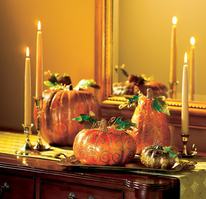 119 best Fall Holidays images on Pinterest Fall halloween - halloween fall decorating ideas