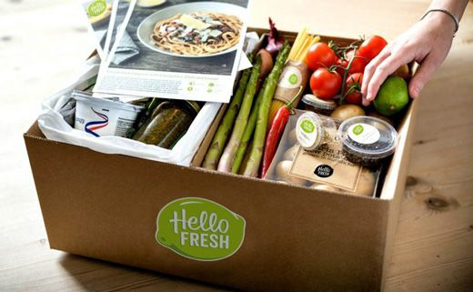 Check out the delicious healthy recipes with tasty new ingredients by buying this fresh collection of veggie box at £36 for 2 people.