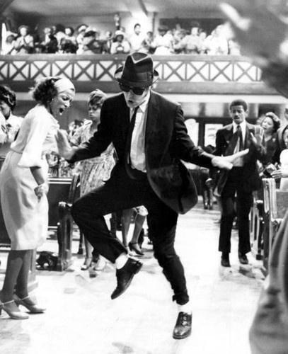 "Dan Aykroyd, ""The Blues Brothers"", 1980."