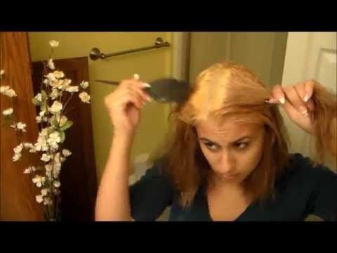 How I Toned My Orange Hair With Wella Toner T18 - YouTube
