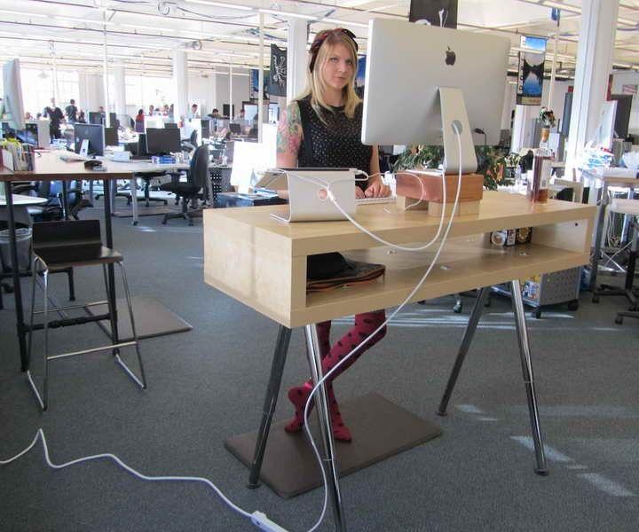 Ikea Standing Desk Hack Ideas | Office Space | Pinterest ...