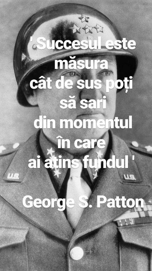 ' Succesul este măsura cât de sus poți să sari din momentul în care ai atins fundul ' George S. Classon  www.talosdarius.ro