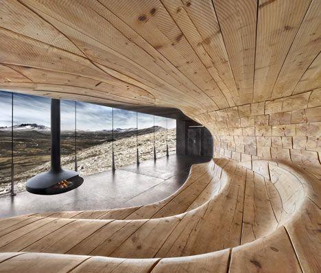 Norwegian Wild Reindeer Centre Pavilion - Snøhetta Architects