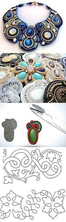 Сутажная вышивка: что это? Мастер класс по сутажной вышивке и схемы для работы - LadySpecial.ru
