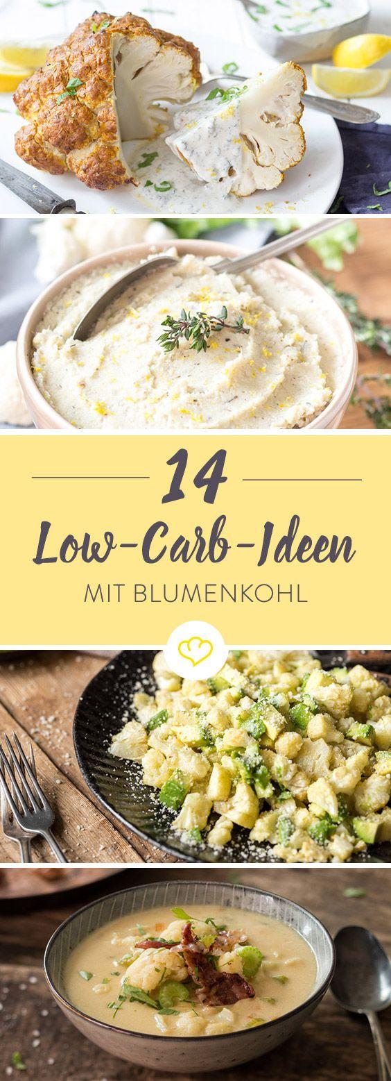 Weizenmehl, Kartoffeln und Pasta durch Blumenkohl ersetzen und die Klassiker als leichte Variante schlemmen. Das Beste daran: Es schmeckt genauso lecker.
