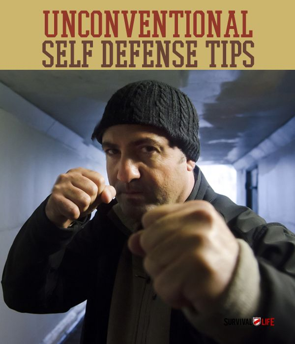 Unconventional Self Defense Tips #selfdefensetips