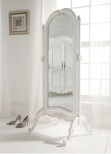 Paris Antique French Cheval Mirror
