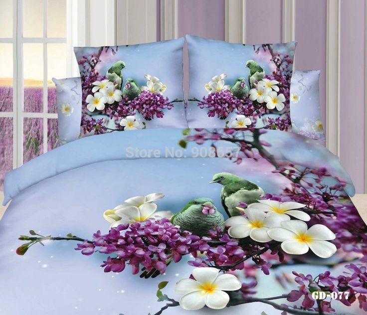 new-purple-flower-bird-print-bedding-font-b-set-b-font-Egyptian-cotton-home-textile-full.jpg (1000×860)