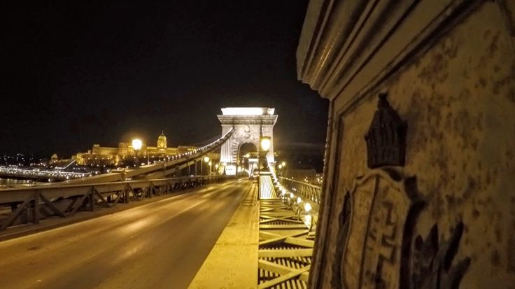 The Széchenyi Chain Bridge  is a suspension bridge that spans the River Danube between Buda and Pest